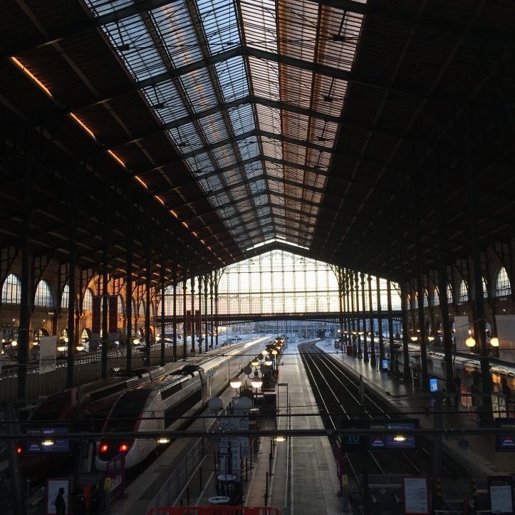 Euro Star - Gare du Nord à Paris