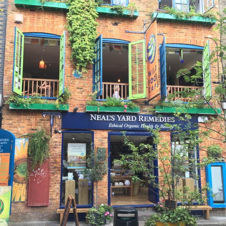 Neals Yard Remedies, Londres.